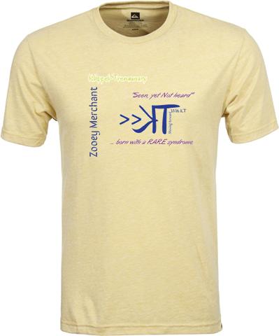 tshirt .front . klippel predominant. personalized